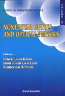Nonlinear Optics and Optical Physics
