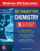 Mcgraw Hill Education Sat Subject Test Chemistry Fifth Edition