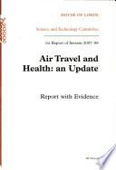 Air travel and health Book