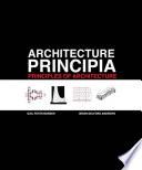 Architecture Principia