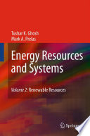 Energy Resources and Systems