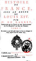 Histoire de France sous le règne de Louis XIV