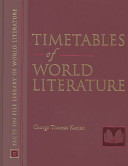 Timetables of World Literature