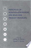 Principles Of Modified Atmosphere And Sous Vide Product Packaging Book PDF