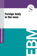 Pdf Foreign body in the nose