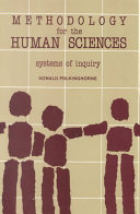 Methodology for the Human Sciences
