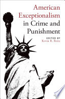 American Exceptionalism in Crime and Punishment Book