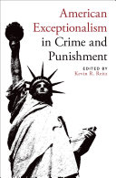 American Exceptionalism in Crime and Punishment