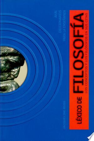 Download Léxico de filosofía Free Books - Dlebooks.net