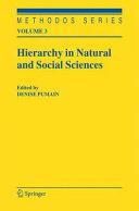 Hierarchy in Natural and Social Sciences Pdf/ePub eBook