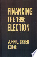 Financing The 1996 Election Book