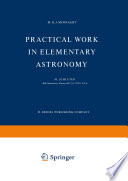 Practical Work In Elementary Astronomy