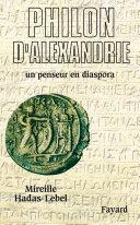 Pdf Philon d'Alexandrie Telecharger