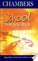 Chambers School Thesaurus Book PDF