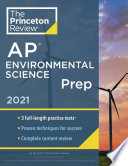 Princeton Review AP Environmental Science Prep 2021