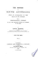 The History of South Australia from Its Foundation to the Year of Its Jubilee