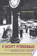 F Scott Fitzgerald And The American Scene