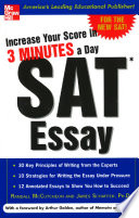 Increase Your Score in 3 Minutes a Day  SAT Essay
