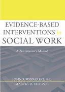 Evidence-based Interventions in Social Work Pdf/ePub eBook