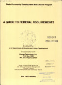 A Guide to Federal Requirements