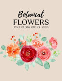 Botanical Flowers Coloring Book