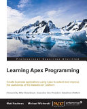 Learning Apex Programming ebook