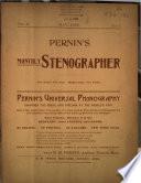 Pernin's Monthly Stenographer