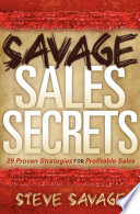 Savage Sales Secrets Book PDF