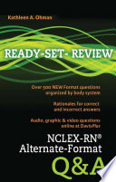 NCLEX RN   Alternate Format Q A