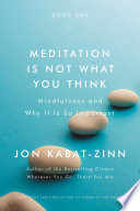 Meditation Is Not What You Think Book