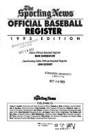 Official Baseball Register  1993