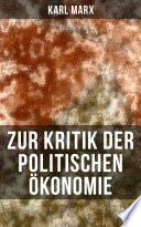 Zur Kritik der politischen Ökonomie