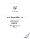 Geological Survey of Canada  Open File 3003