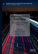 Pdf When Translation Goes Digital Telecharger