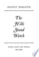 The Hills Stand Watch