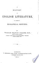 A History of English Literature  in a series of biographical sketches   Appendix on American literature