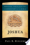 Joshua Brazos Theological Commentary On The Bible