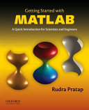Getting Started With Matlab Book PDF