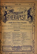 The American Therapist