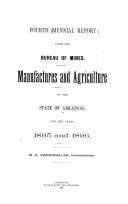 Biennial Report of the Arkansas Bureau of Mines  Manufactures and Agriculture