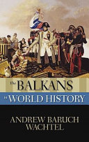 The Balkans in World History Book