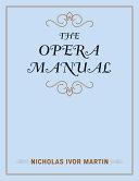 The Opera Manual