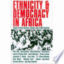 Ethnicity Democracy In Africa