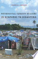 Psychosocial Capacity Building In Response To Disasters Book PDF
