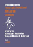 Proceedings Of The Twenty Eighth International Matador Conference Book PDF