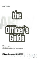 The Army Officer's Guide