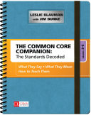 The Common Core Companion: The Standards Decoded, Grades 3-5