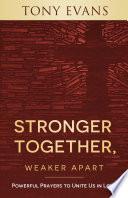 Stronger Together, Weaker Apart Pdf/ePub eBook