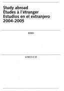 Estudios en el extranjero  2004 2005