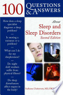 100 Questions   Answers About Sleep and Sleep Disorders